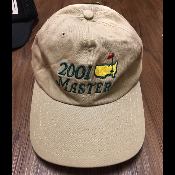 masters Other - ⛳️ '01 Masters golf hat NWT